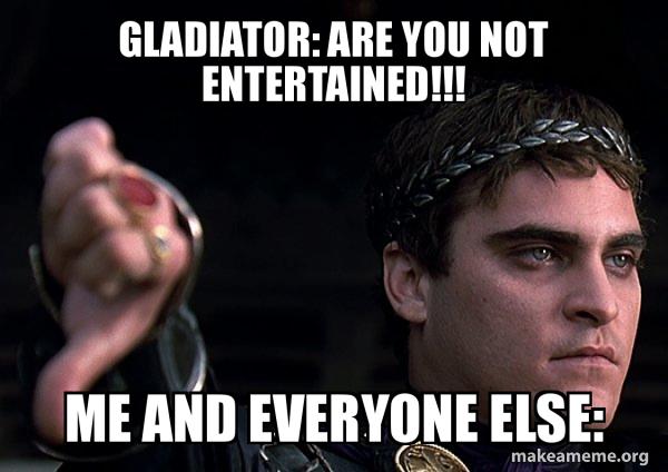 Downvoting Roman meme