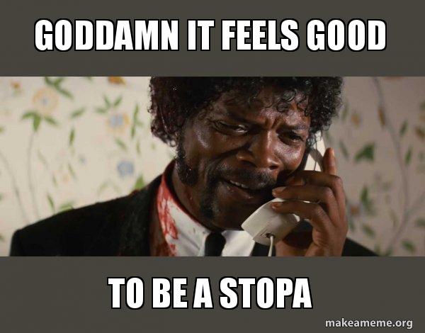 Shit Negro - Pulp Fiction meme