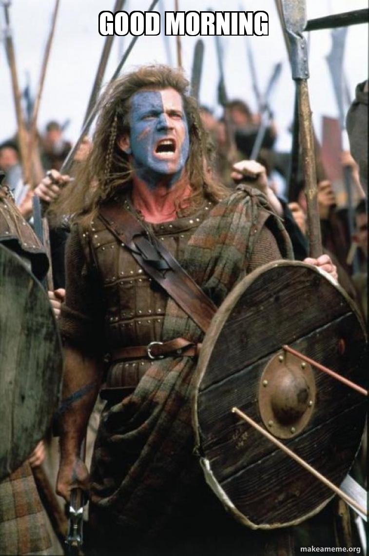William Wallace meme