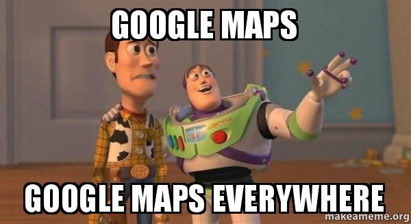 Image result for google maps memes