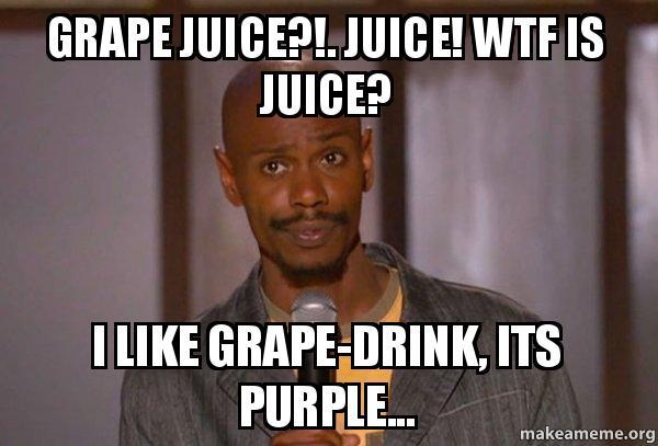 Dave Chappelle Juice Drink