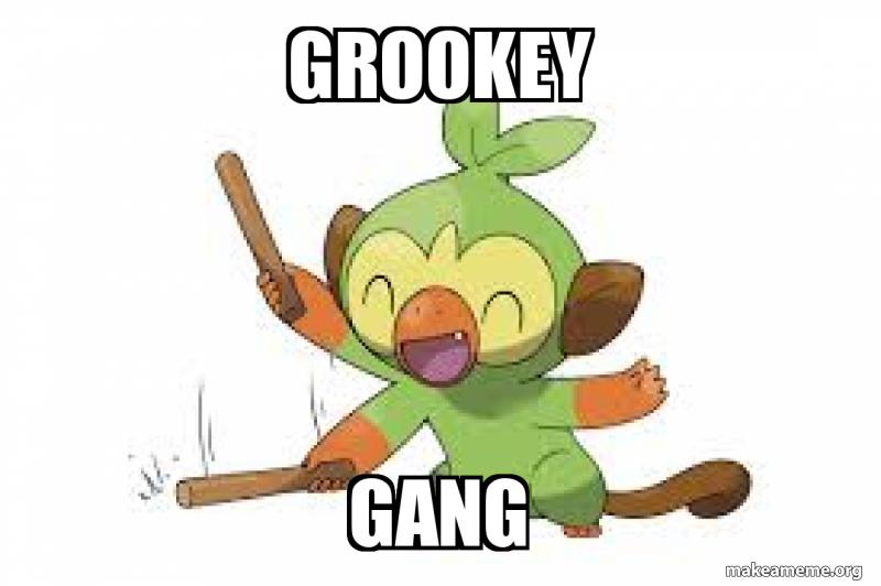 Grookey Gang Make A Meme 1000 x 650 png 288 кб. grookey gang make a meme