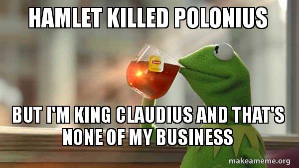 when does hamlet kill polonius