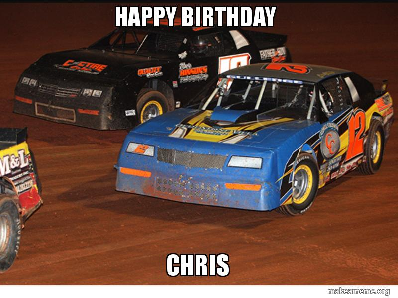 Cute Happy Birthday Race Car Meme