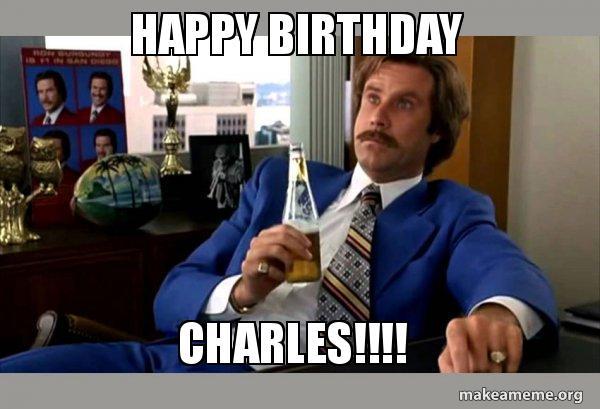ron burgundy birthday meme