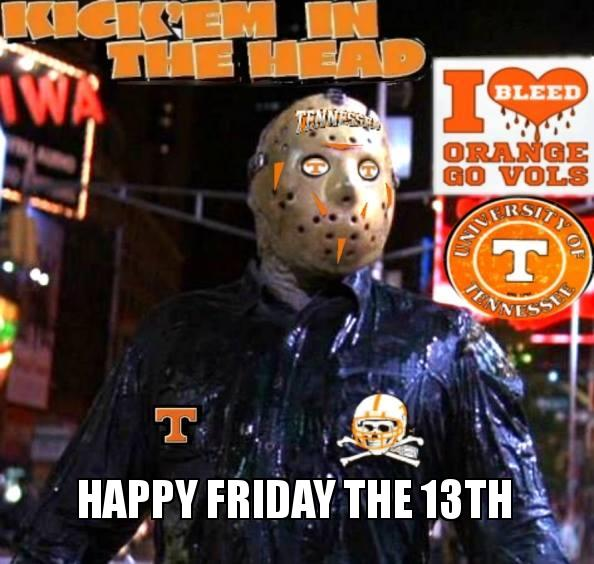 happy friday the 13th | Make a Meme