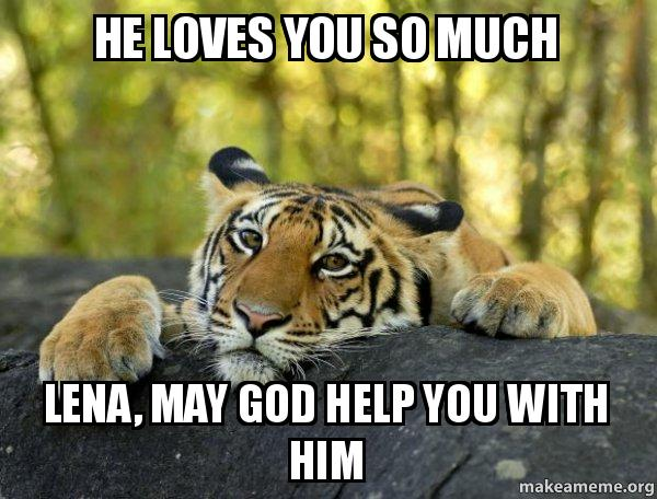 he loves you: