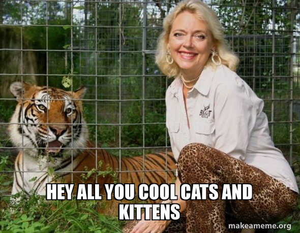Hey All You Cool Cats And Kittens Make A Meme