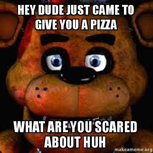 you scared meme - photo #25