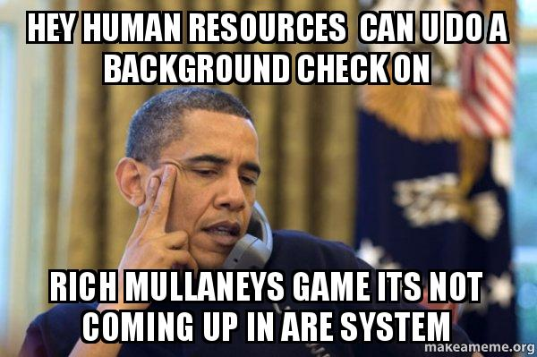 Meme Human Resources: Obama Ordering A Pizza (on The Phone) Meme