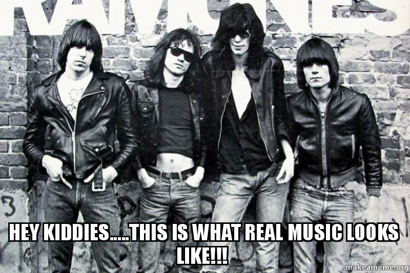 Hey Kiddies.....This Is What Real Music Looks Like ...
