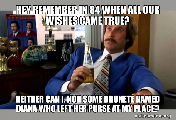 Ron Burgundy - boy that escalated quickly meme