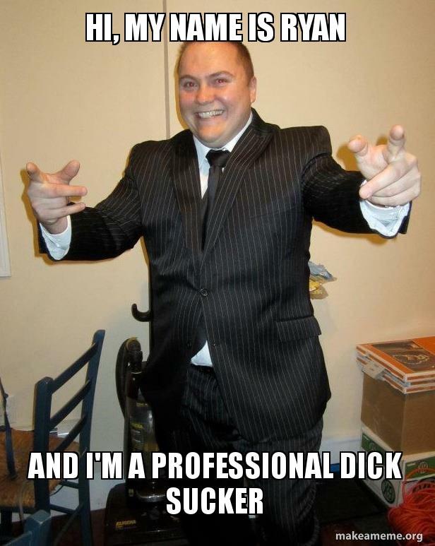 Professional dick sucker
