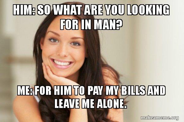 私の法案を支払う男を探しています