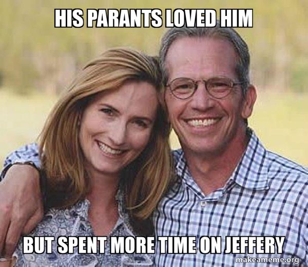 Good guy parents meme