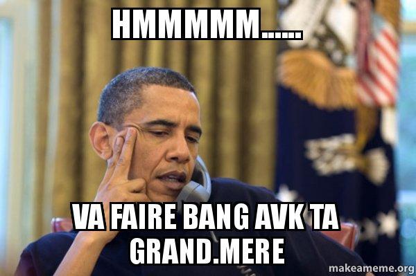 Obama meme phone