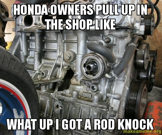 Honda owners pull up in the shop like what up i got a rod for Honda owner login