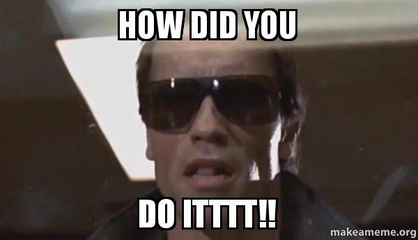 how did you do itttt the terminator make a meme