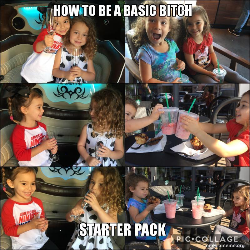 Basic Bitch Starter Pack