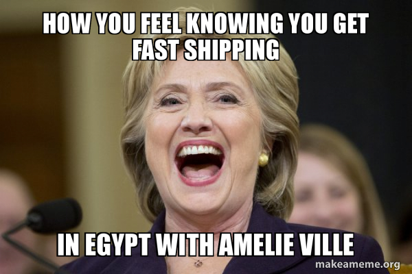 Hillary Clinton Laughs meme