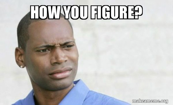 Confused Black Man meme