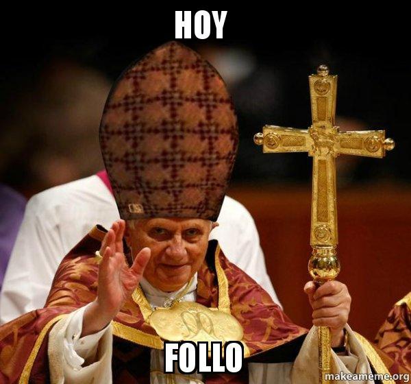 scumbag pope hoy follo