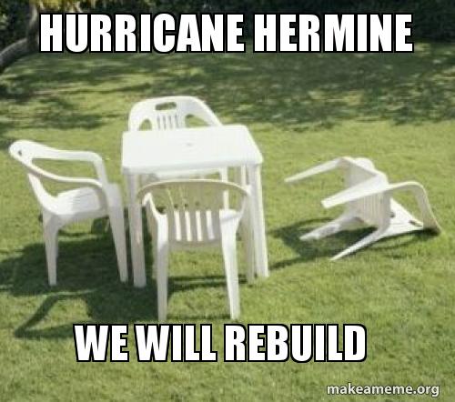 hurricane hermine we qj07yc hurricane hermine we will rebuild make a meme
