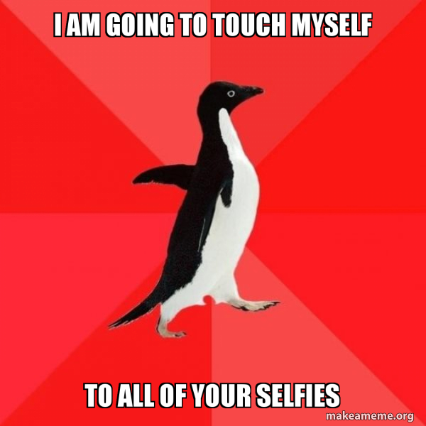 Socially Awesome Penguin meme