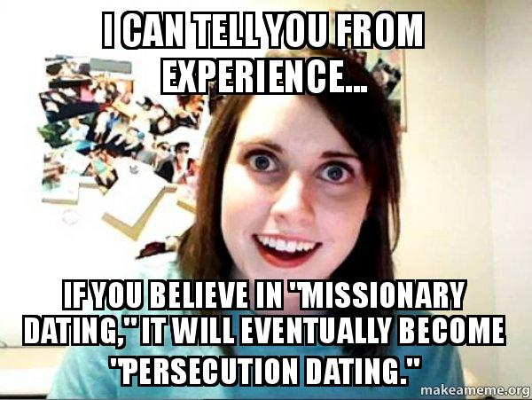 ... forget to fill out your Returned Missionary Dating Application
