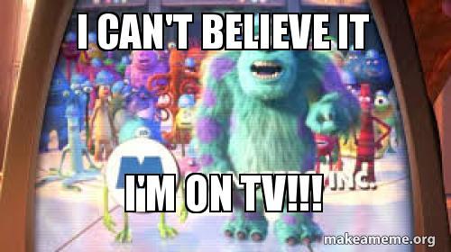 m on tv
