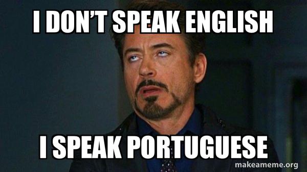 i don t speak english