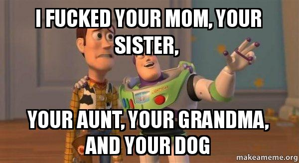 I fucked your mom stories