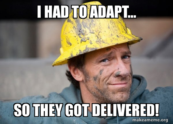 A Dirty Job meme