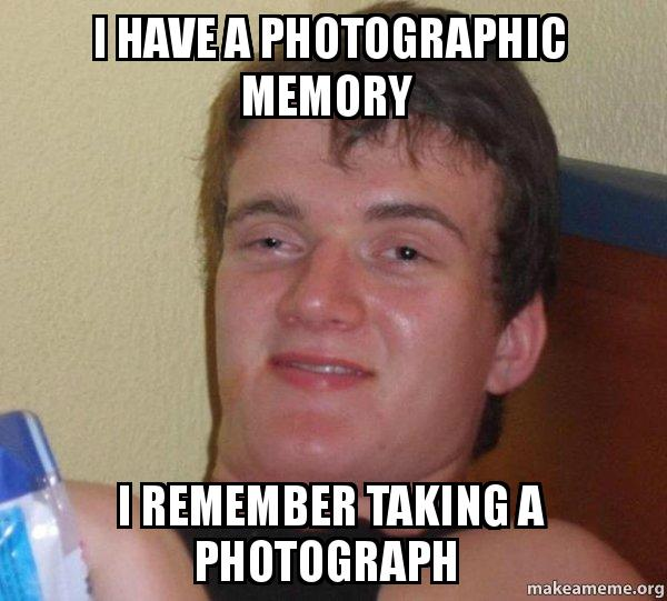 how to get photographic memory reddit
