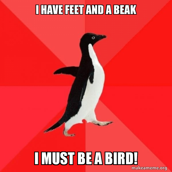 Socially Awesome Penguin meme