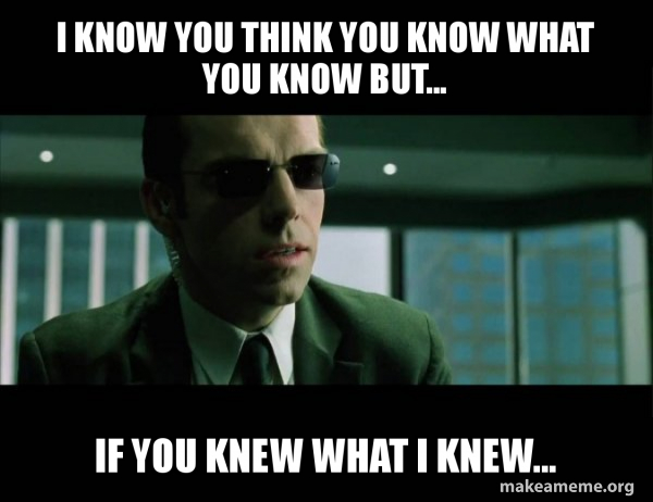 Agent Smith from the Matrix meme