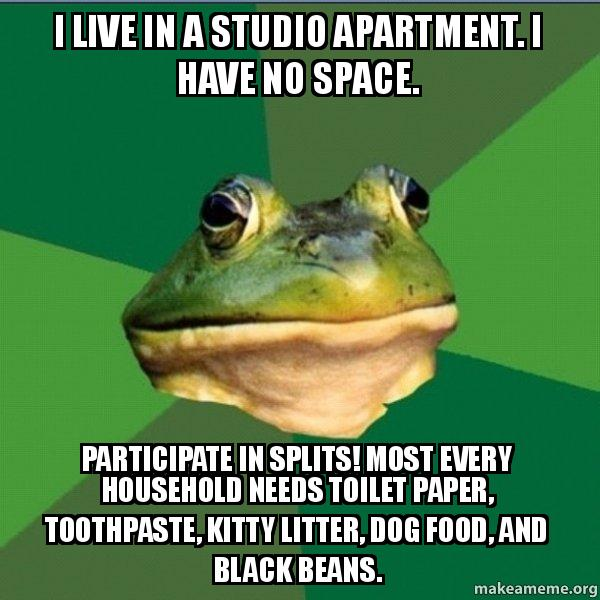 Bachelor Apartment Meme Foul Bachelor Frog meme