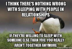 Slept with someone else while dating