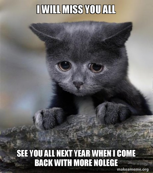 I Ll Miss You Every Moment Of Every Moment 10 Guy Quickmeme