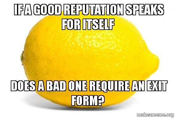 Lemon meme