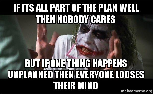 Nobody Cares Meme Joker If its all part of the...