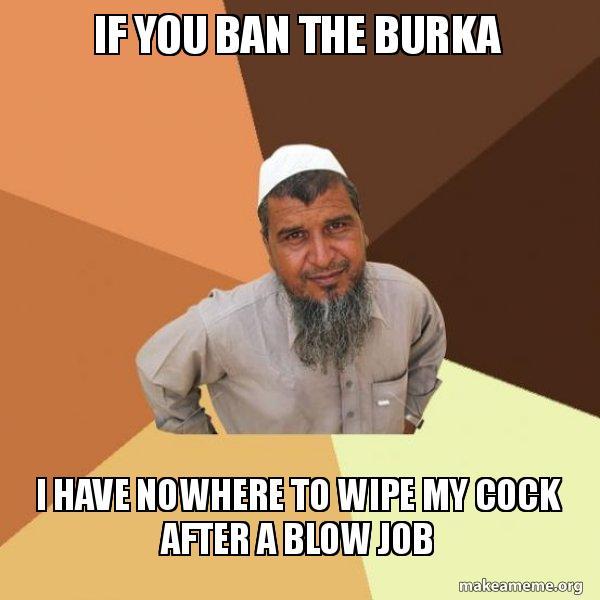 Job burka blow Burka Blowjob
