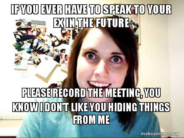 jealous of my ex girlfriend