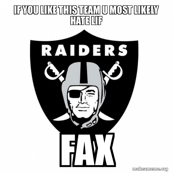 Oakland Raiders meme