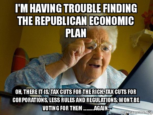 im having trouble k75sk7 i'm having trouble finding the republican economic plan oh, there