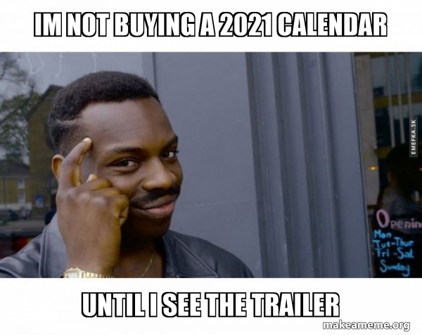Pictures of Memes 2021 Calendar