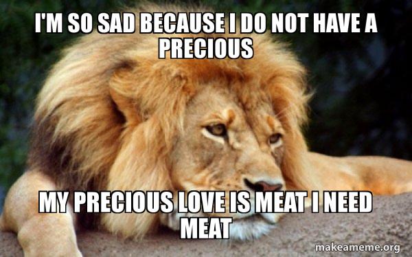 Confession Lion meme