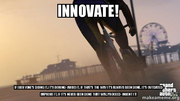 Grand Theft Auto Bicycles meme