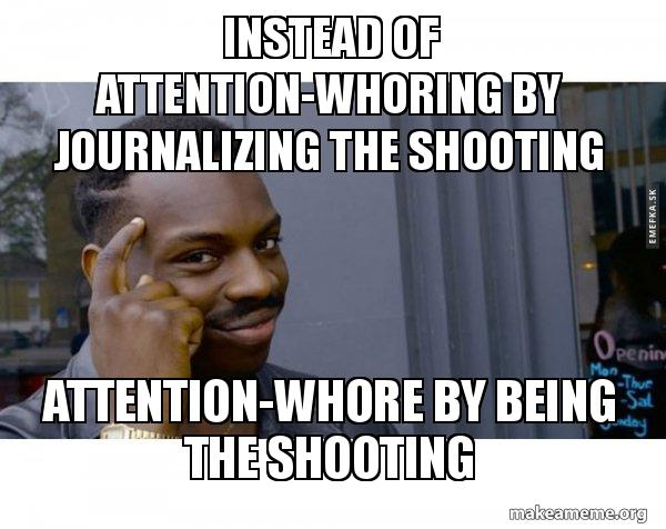 Attention whoring