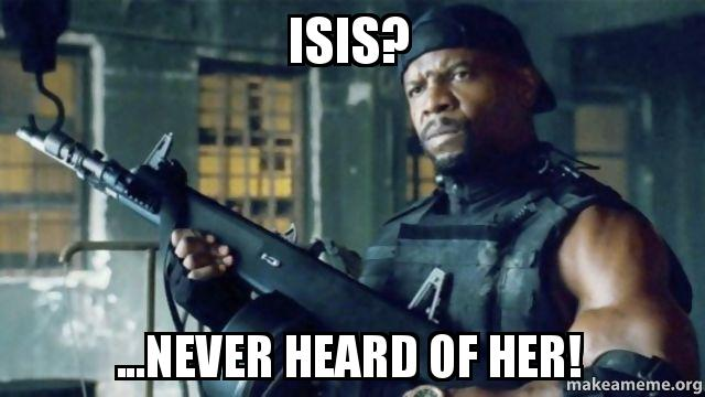 ISIS never heard of her - Almost Politically Correct ...